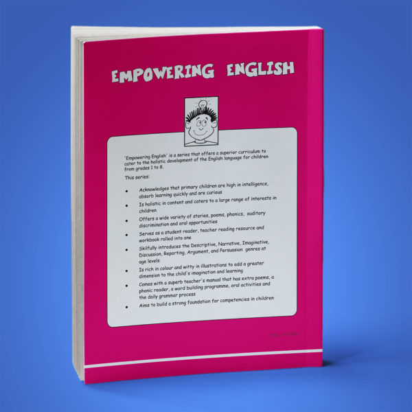 Empowering English Text Book Class 1 back