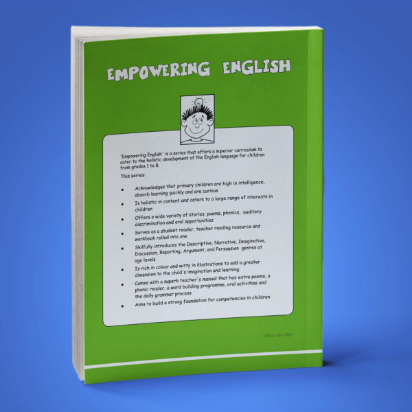 Empowering English Text Book Class 2 back