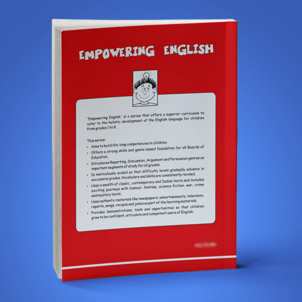Empowering English Text Book Class 4 back