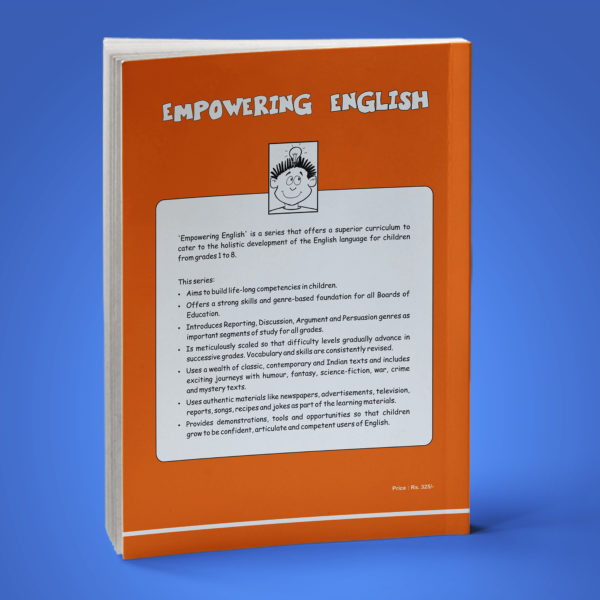 Empowering English Text Book Class 5 back