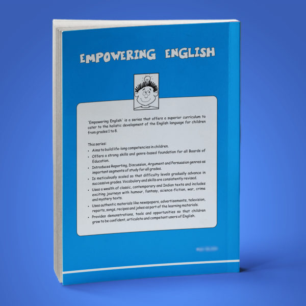 Empowering English Text Book Class 7 back