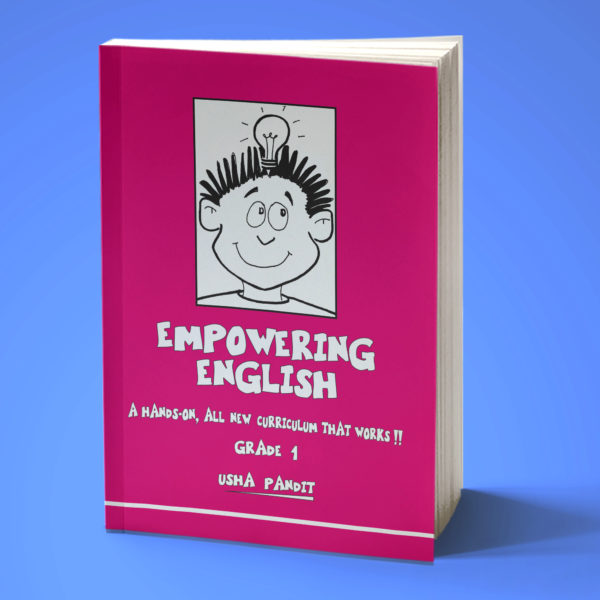 Empowering English Text Book Class 1 front