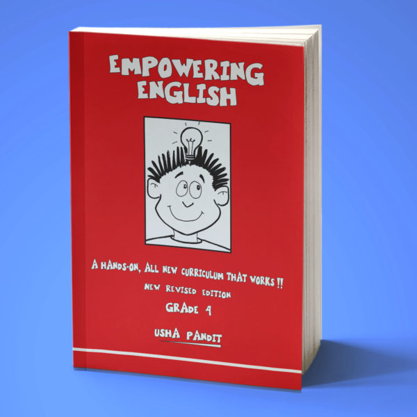 Empowering English Text Book Class 4 front
