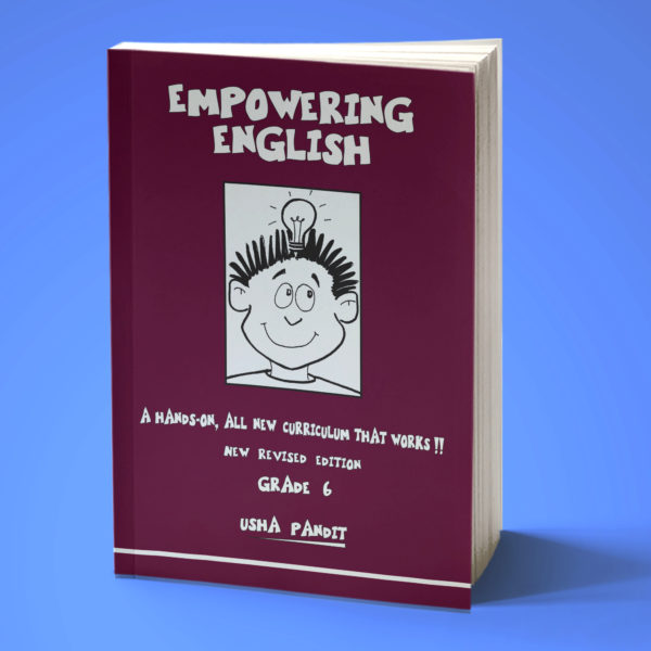 Empowering English Text Book Class 6 front