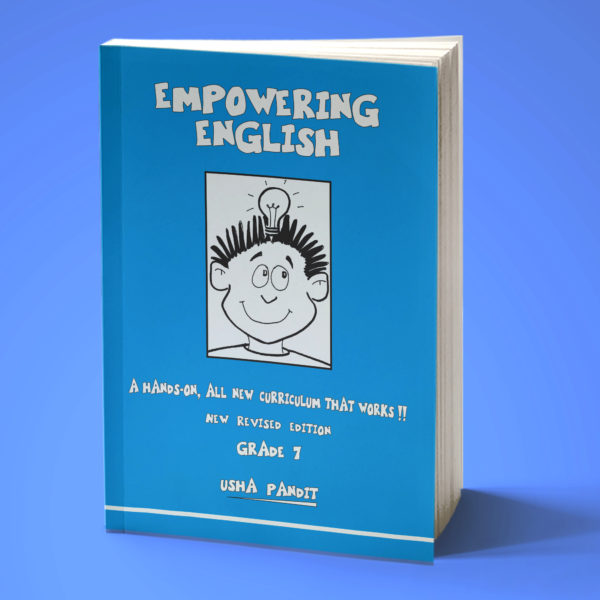 Empowering English Text Book Class 7 front