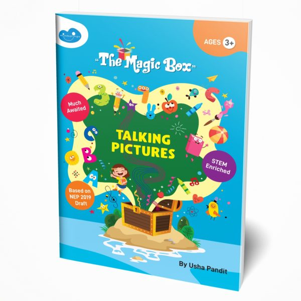 Senior KG book / Pre-Primary book / Kindergarten book front cover