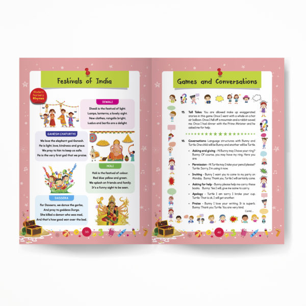 Junior KG book / Pre-Primary book / Kindergarten book inside pages