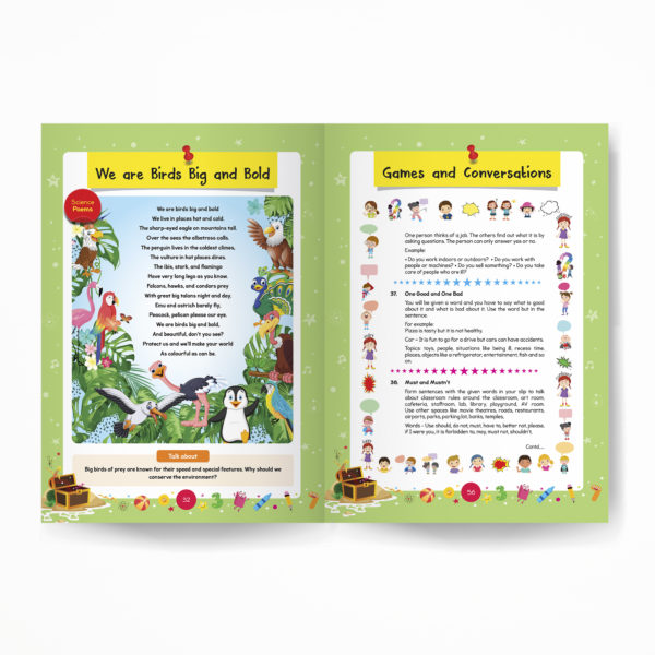 Senior KG / Pre-Primary book / Kindergarten inside pages