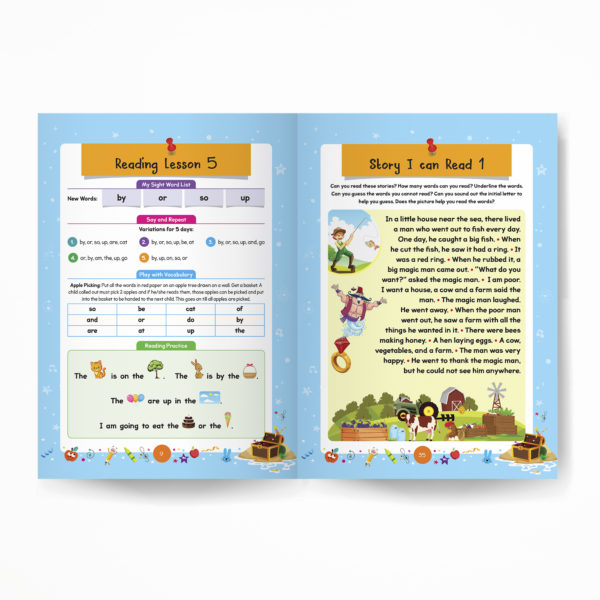 Senior KG book / Pre-Primary book / Kindergarten book inside pages