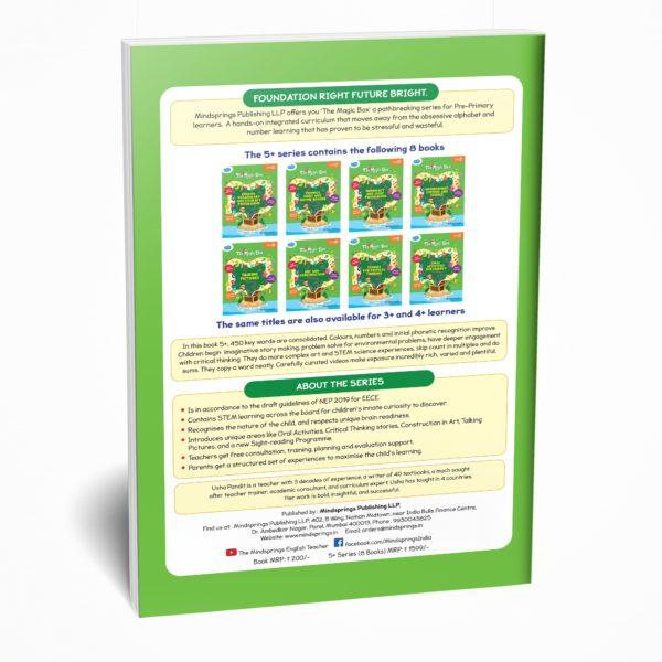 Senior KG / Pre-Primary book / Kindergarten back cover