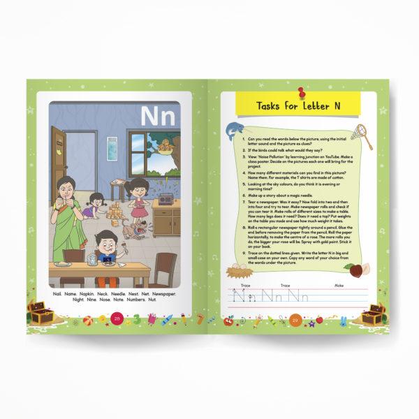 Senior KG / Pre-Primary book / Kindergarten inside pages