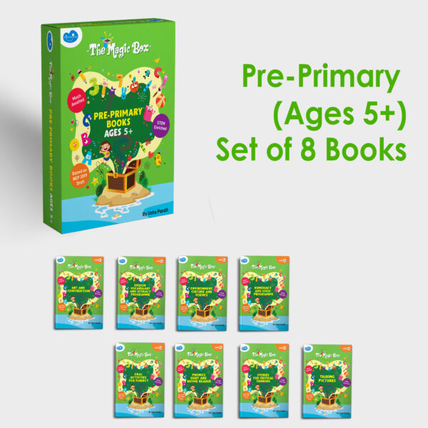Pre-primary books for ages 5+