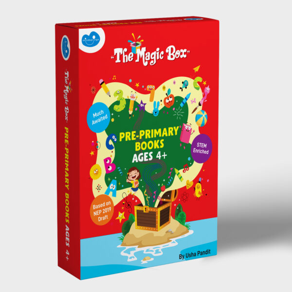 Pre-primary books for ages 4+ box