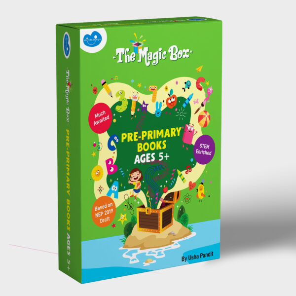 Pre-primary books for ages 5+ front
