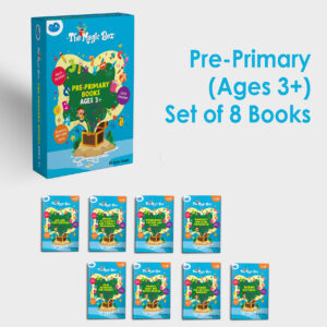 Pre-primary books for ages 3+