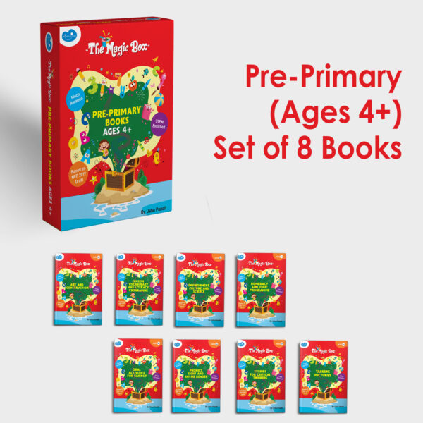 Pre-primary books for ages 4+